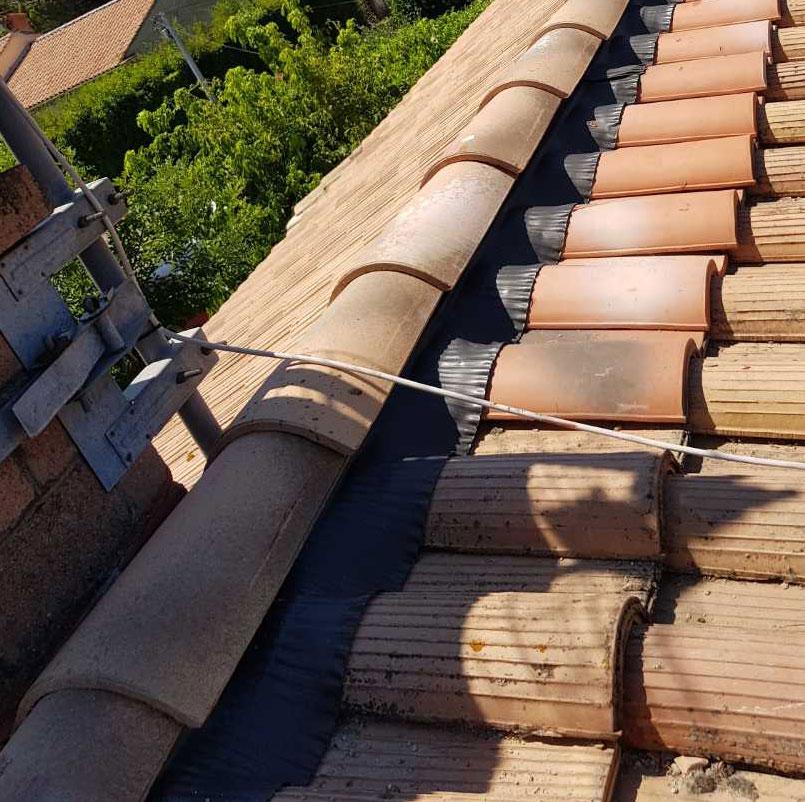 faitage toiture après une rénovation