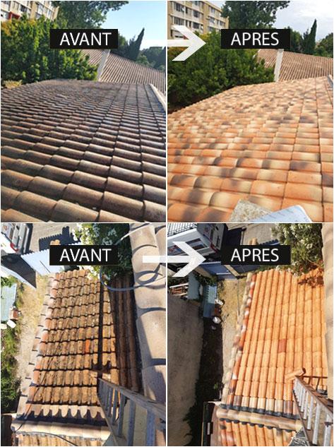 travaux de toiture réalisés par Littoral Habitat